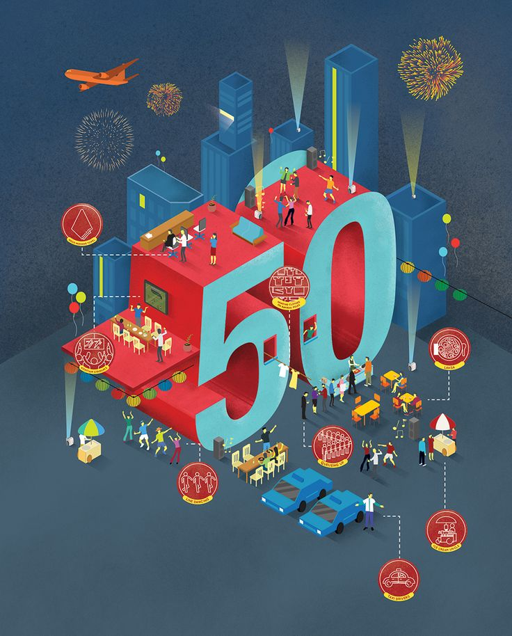 SG50: A Year of Celebrations on Behance