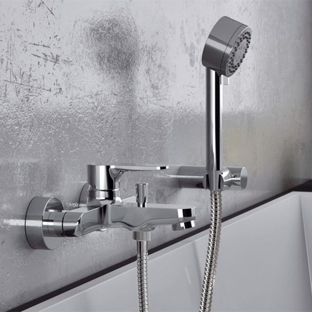 Remer W02 By Nameek S Winner Wall Mounted Tub Faucet With Hand