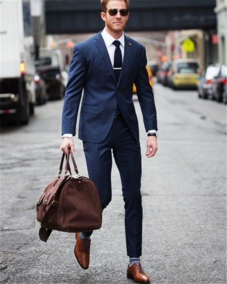 The 25  best Blue suit brown shoes ideas on Pinterest | Man suit ...