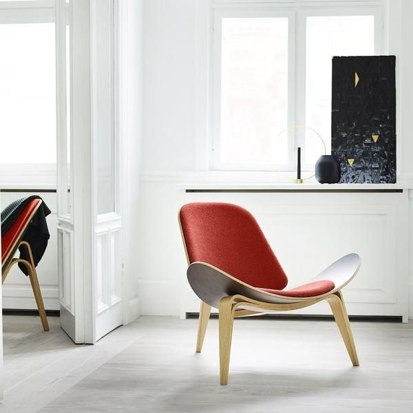Ch07 Shell Chair Danish Modern Living Room Shell Chair Wegner Design