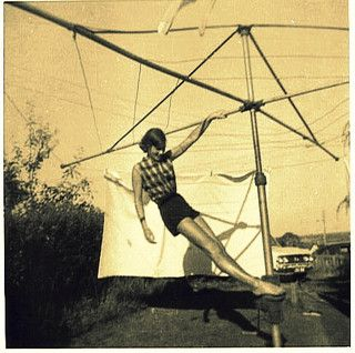 jackie hills hoist cross by colesworth, via Flickr • hills rotary clothes hoist • Australian culture