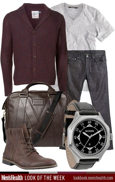 What do you think of our casual cool #LookoftheWeek? T-Shirt: H&M Sweater: Topman Jeans: J Brand Watch: Nixon Shoe: Steve Madden Bag: M...