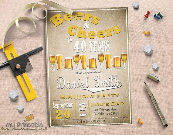 11 best 40th Birthday Party images on Pinterest 40th birthday - fresh birthday invitation jokes