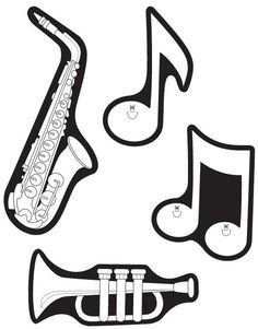 Fichas De Instrumentos Musicales Guitarra Piano Trompeta Flauta