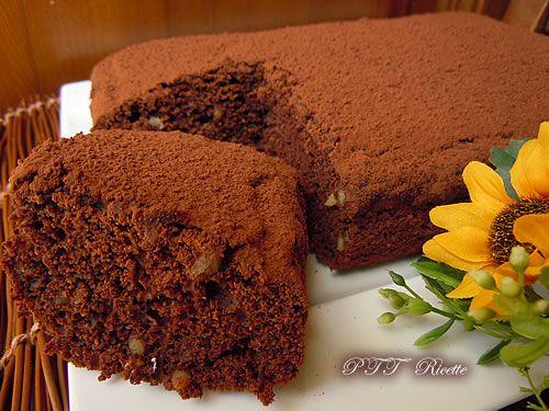 Torta all'acqua al cioccolato | Torta dietetica