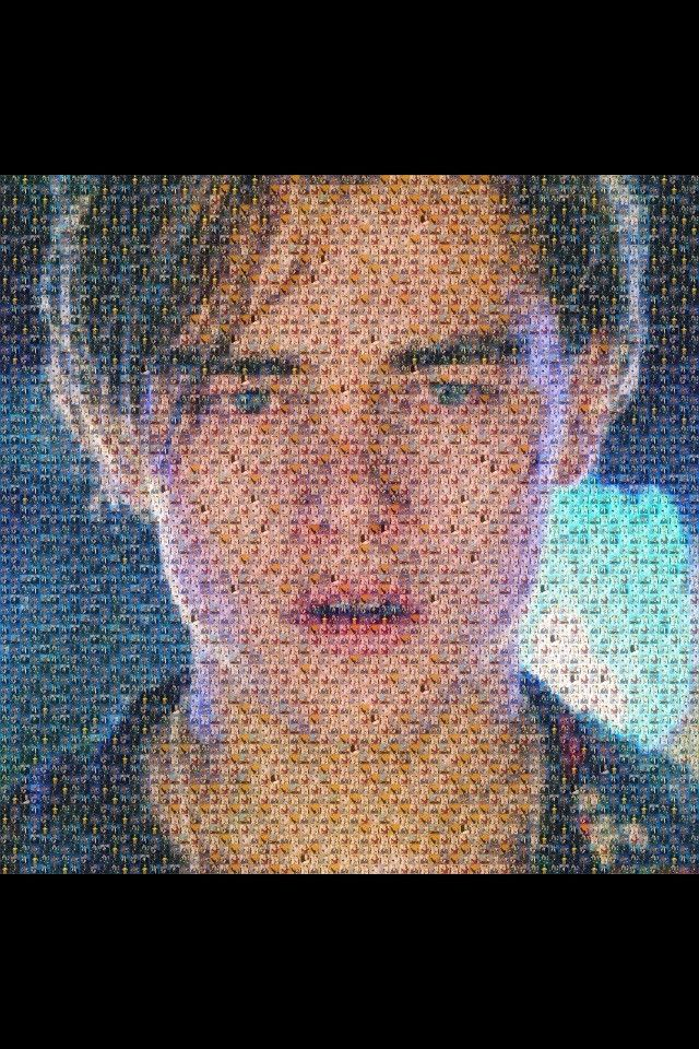 a picture of leonardo di caprio crying, made out of pictures of oscar winners - Imgur | Pinned by http://www.thismademelaugh.com