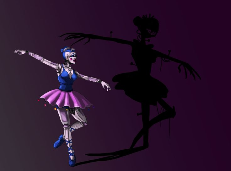 Design But That Ballerina Animatronic In The FNaF Sister Location