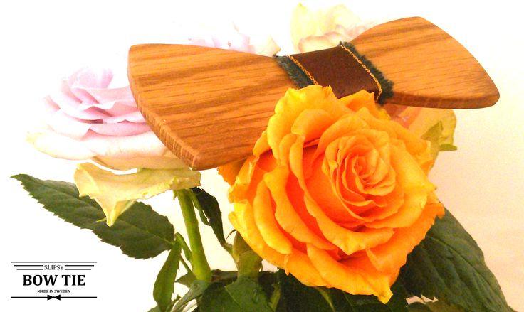 Wooden BowTies Träflugor Slipsy