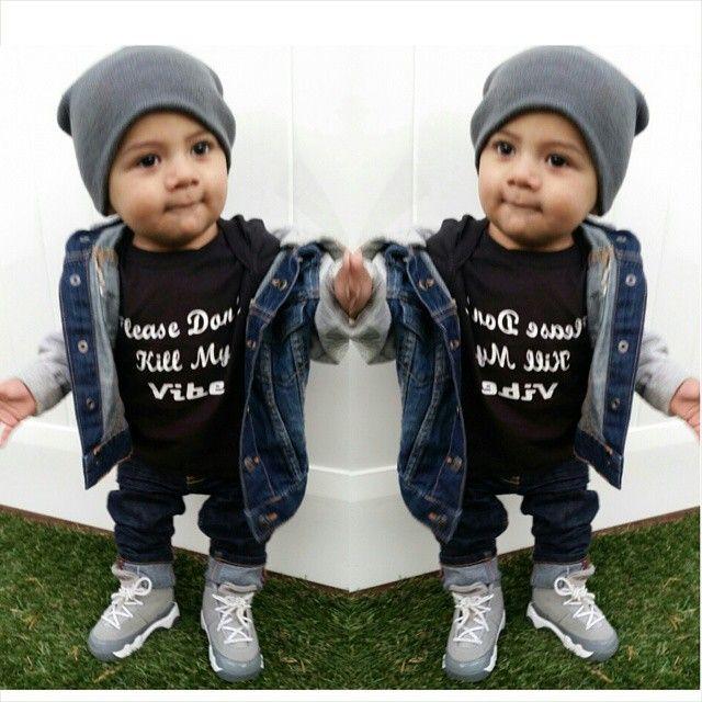 Finn Needs A Lil Jean Jacket Little Dude Baby Boy