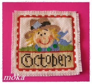 Kramik  Moka: SAL Lizzie Kate - październik