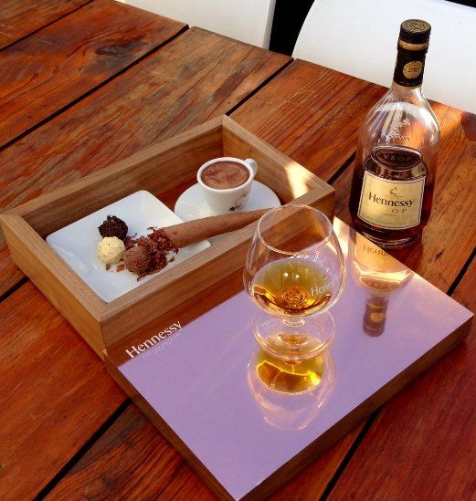 Now available at Shimmy Beach Club: a decadent #Hennessy 3 C's box. Order your sinfully delicious treat from your Shimmy waiter.  Book a table info@shimmybeahclub;co.za