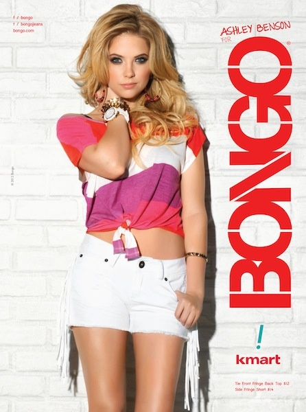 Ashley Benson for Bongo. big fan of Bongo clothes! <3