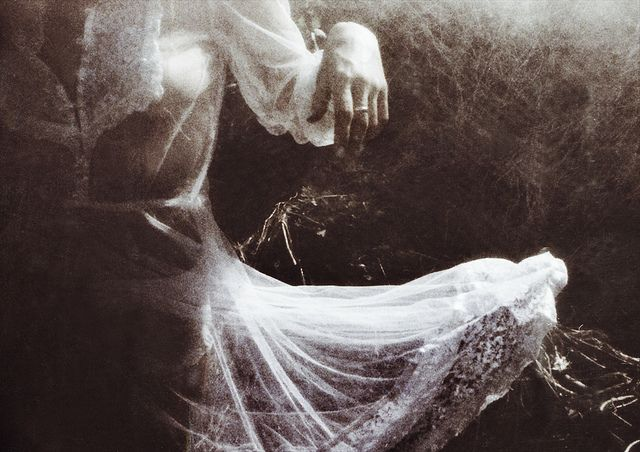 ethereal and a little creepy. *love*