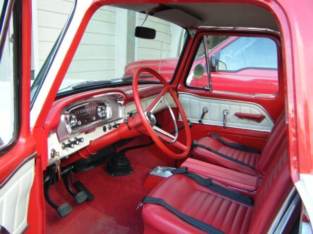 1968 F100 interior | 1965-1966 Ford F-Series Ranger: A Bit Too Far Ahead Of Its Time