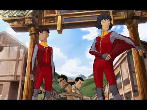 Ahhh 4 more days I am fangirling sooo hard right now I love Avatar the last airbender and Legend of korra