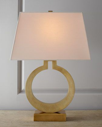 Brass Ring Lamp by VISUAL COMFORT at Neiman Marcus.