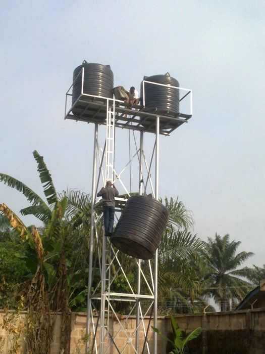 Water Tank Design : Best tank stands images on pinterest bing