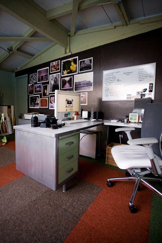 Best 25 tanker desk ideas on pinterest metal desk for Garage office ideas
