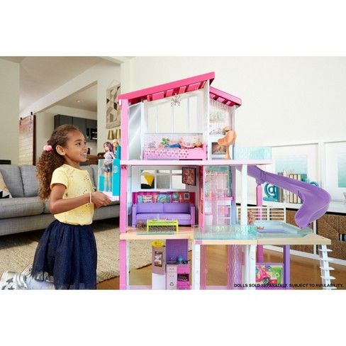 Swell Barbie Dreamhouse Playset Party Ideas Barbie Dream House Download Free Architecture Designs Rallybritishbridgeorg