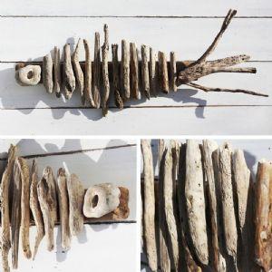 Driftwood Skeleton Fish