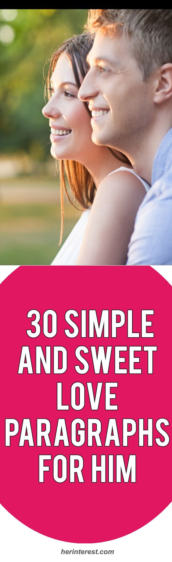30 Simple and Sweet Love Paragraphs for Him