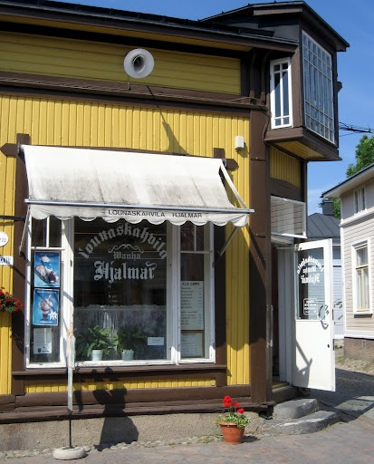 Rauma - Finland - old city - Cafe