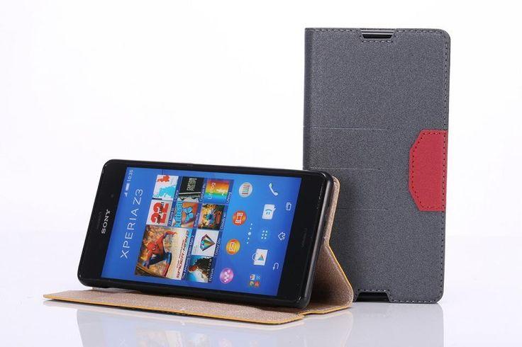 Чехол для Sony Xperia Z3, роскошь чехол для sony Xperia Z3 чехол кожа откидной чехол для sony Xperia Z3 D6603 D6643 чехол чехол