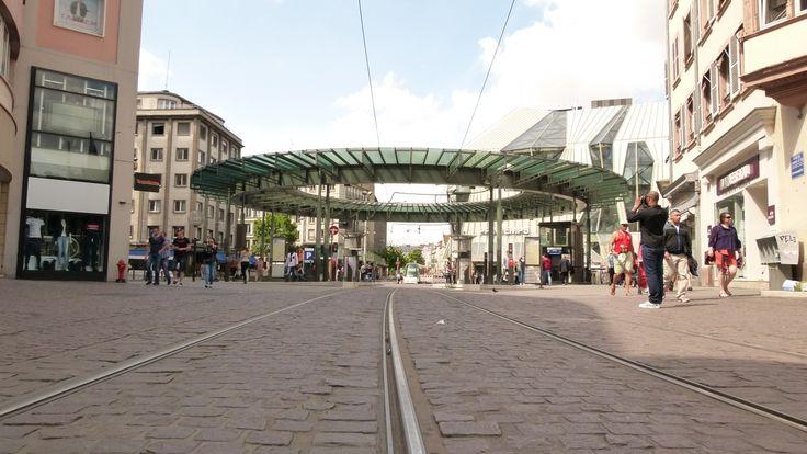 Place de l'homme de fer à #Strasbourg #hdf