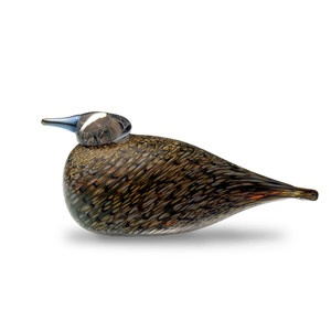 I love Iittala Glass Birds!!   (Spotted Crake) now featured on Fab.