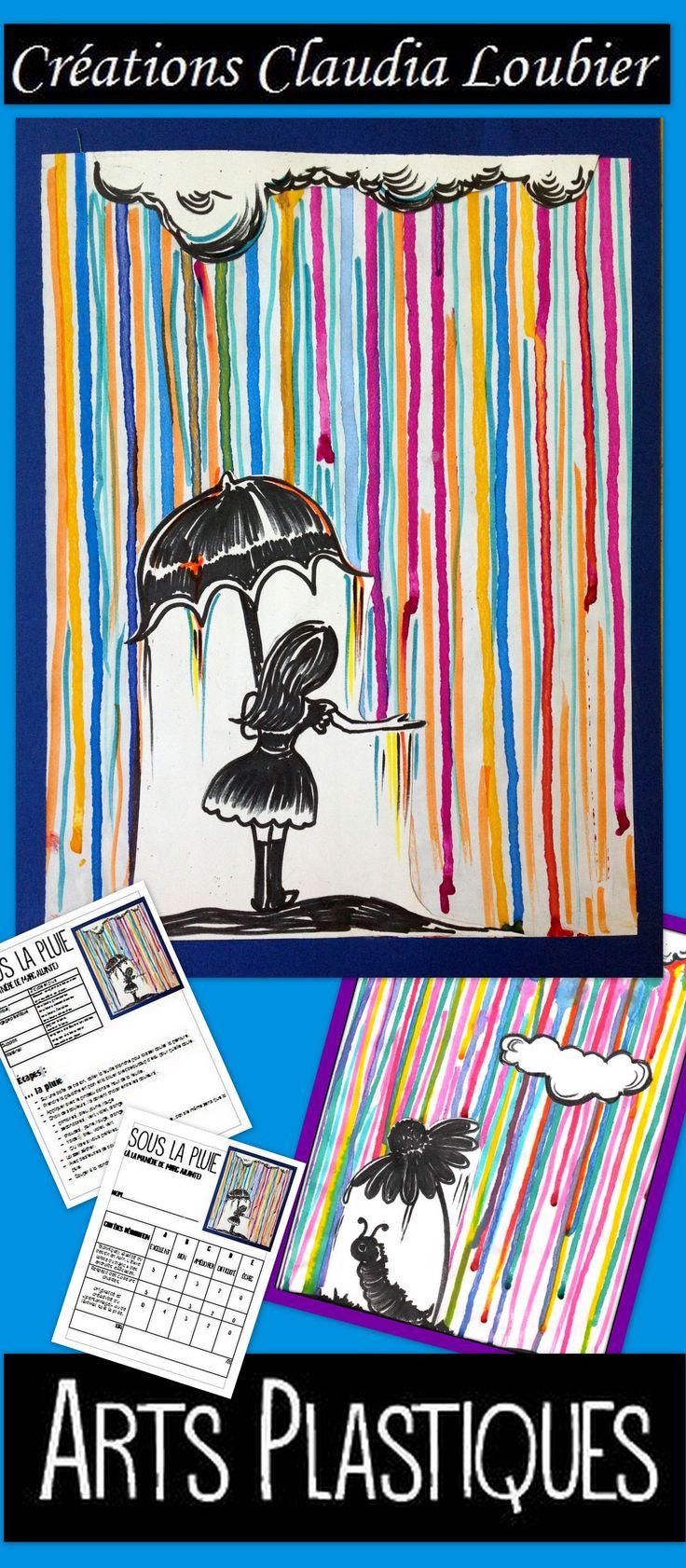 Projet d'arts plastiques pour tous les niveaux du primaire et du secondaire. Révision des catégories de couleurs. Vous aurez besoin de gouache en pain (pastilles) et de carton blanc. Feutres et crayons de bois. Dessins inclus pour varier le thème. Grille d'évaluation incluse.