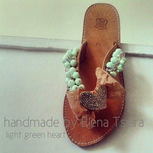 Handmade sandals / χειροποίητα σανδάλια elenasandals.blogspot.com
