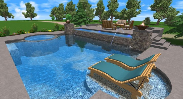 17 best images about pools on pinterest swimming pools for Swimming pool design 3d