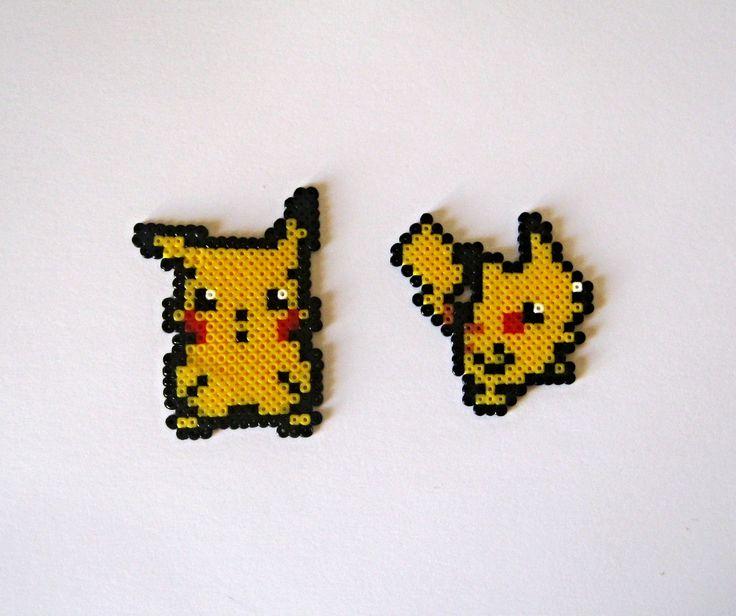 Pikachu Keyring, Brooch or Big sprite / Llavero, broche o sprite grande. Choose yours!!!  €2.95 https://www.etsy.com/es/listing/167024054/pokemon-en-llavero-broche-o-sprite-elige #pokemon #anime #manga #otaku #freak #friki #geek #videogames #videojuegos #pokemonxy