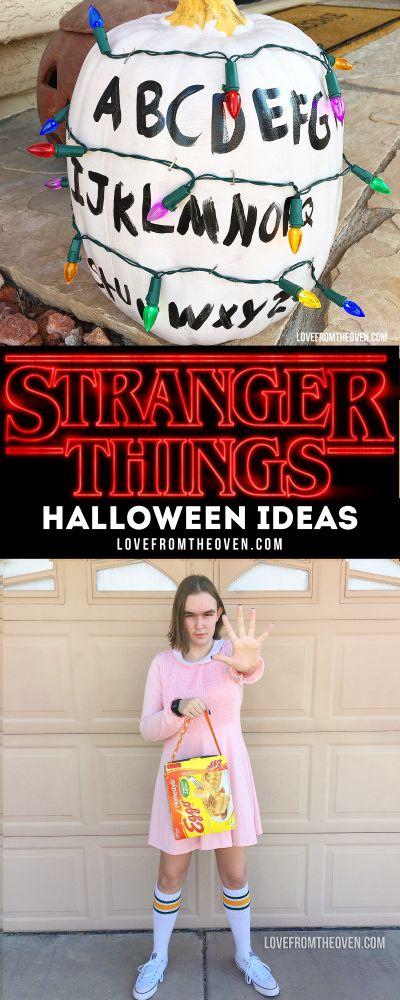 Stranger Things Pumpkin And Halloween Ideas Pumpkins