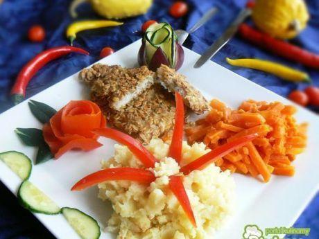 Mintaj w płatkach owsianych z marchewką. Pyszne, zdrowe i pożywne. Przekonaj się!