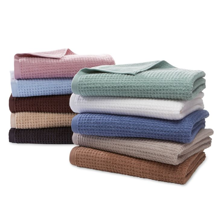 Cannon Quick Dry Cotton Bath Towels Hand Towels or Washcloths,