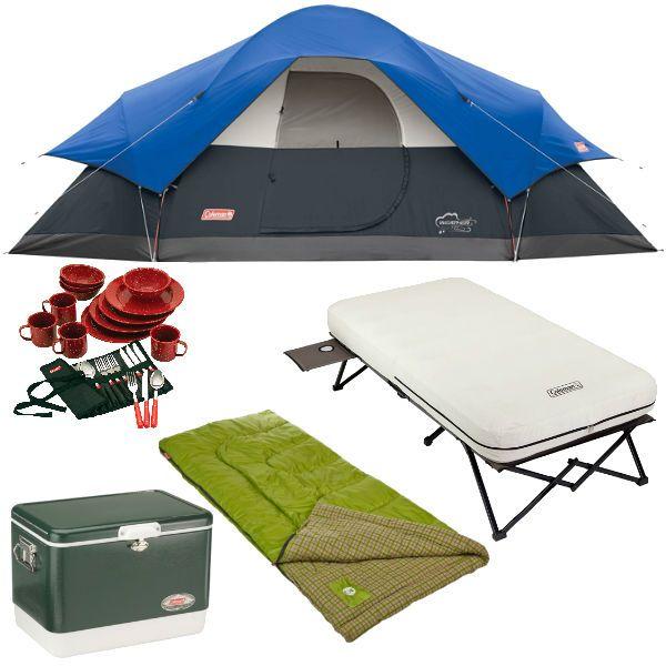 Hoy solamente en Amazon hay un especial en Equipos para Camping Coleman tales como tiendas de campaña, sleeping bag, neveras, utensilios y ...