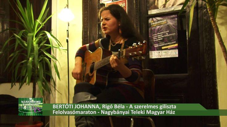 Bertóti Johanna - megzenésített versek, Felolvasómaraton - Teleki Magyar...