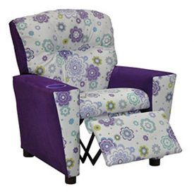 """This exciting addition to our new """"Mixy"""" line of Kidz World designer juvenile furniture features a sturdy mixed hardwood frame which is then generously padded with densified fibers and polyester fibers for both comfort and safety. The arms, side trim and outside back are then upholstered in a solid purple. while the seat, front arm […]"""