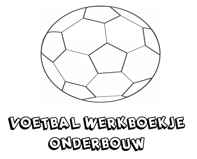 Voetbal Werkboekje voor de Onderbouw