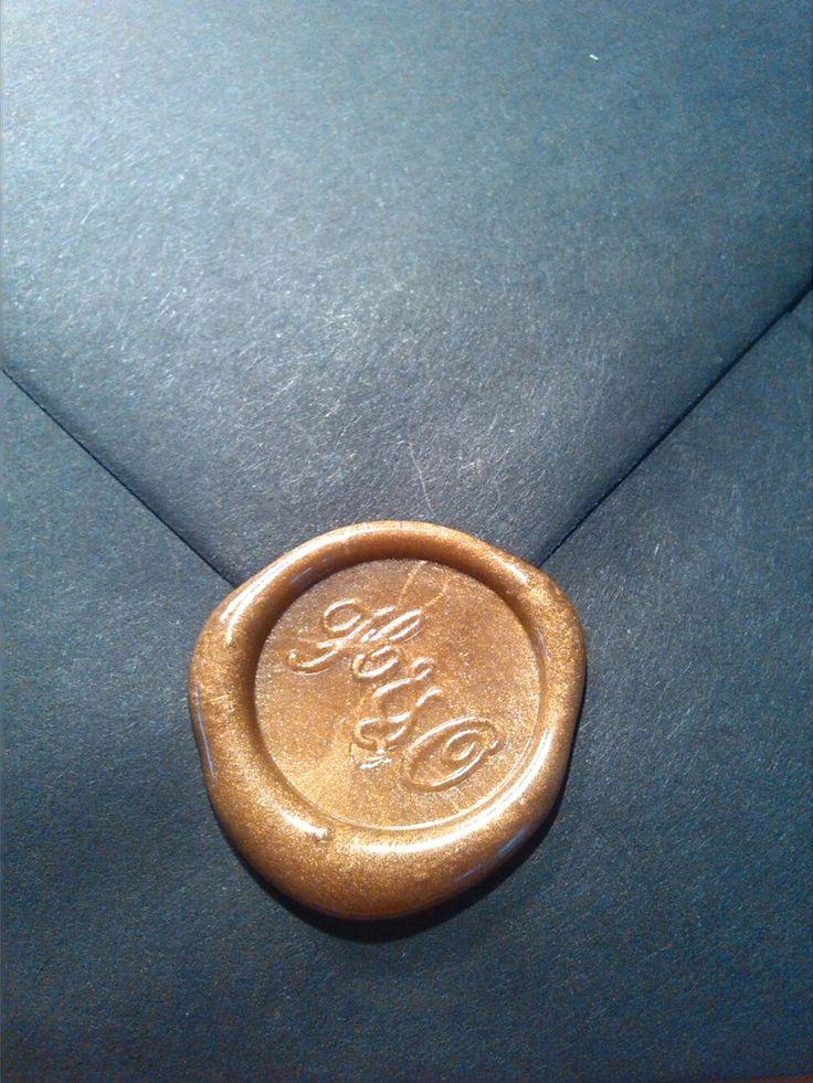 Pečeť na obálce
