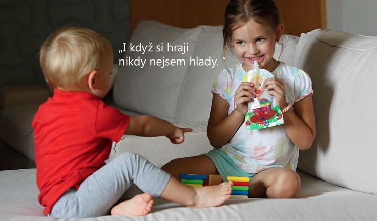 Plnitelné kapsičky – Znovu plnitelné kapsičky na potraviny pro malé děti