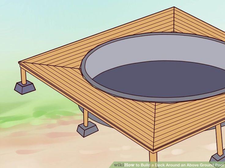 build a deck around an above ground pool