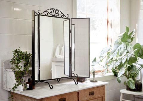 Oltre 10 fantastiche idee su specchio da tavolo su for Specchio da tavolo ikea