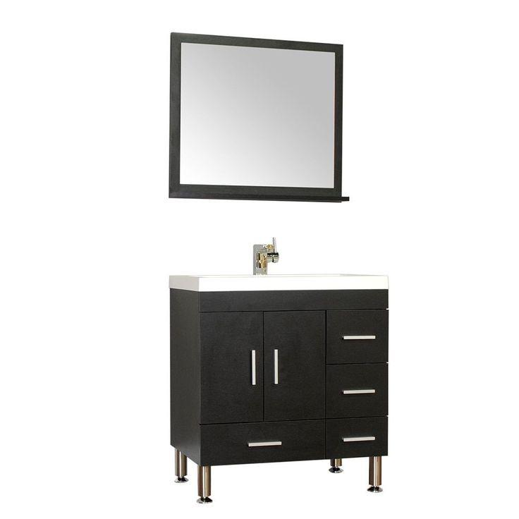 Alya Bath Ripley Collection 30-inch Single Modern Bathroom Vanity Set in