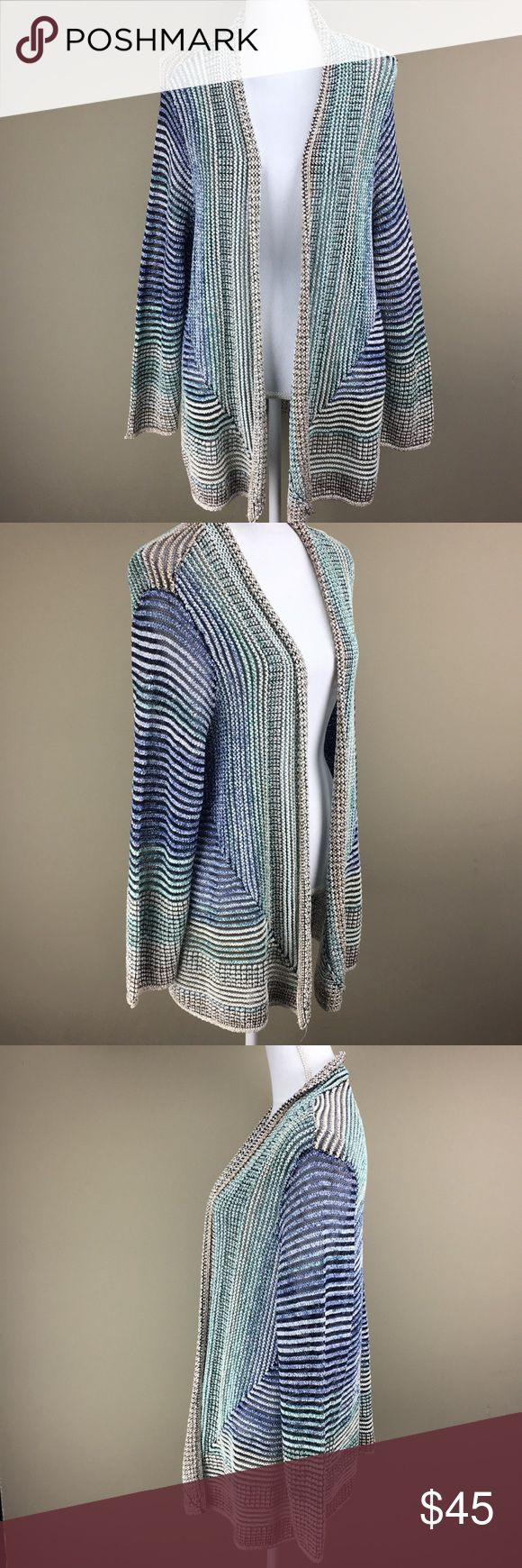 1x NWT nic and Zoe cardi Sz 1x NWT Nic and Zoe 31 inches in length  44 inch bust Open front NIC + ZOE Sweaters Cardigans