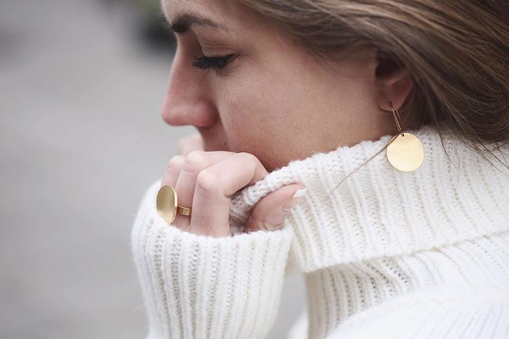 CONCAVE RING & EARRING