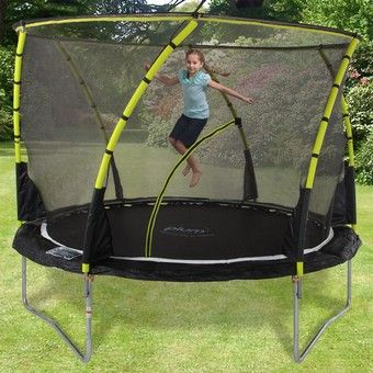 Plum 8ft Whirlwind Trampoline and Enclosure | Plum Trampolines £170 from activitytoysdirecy