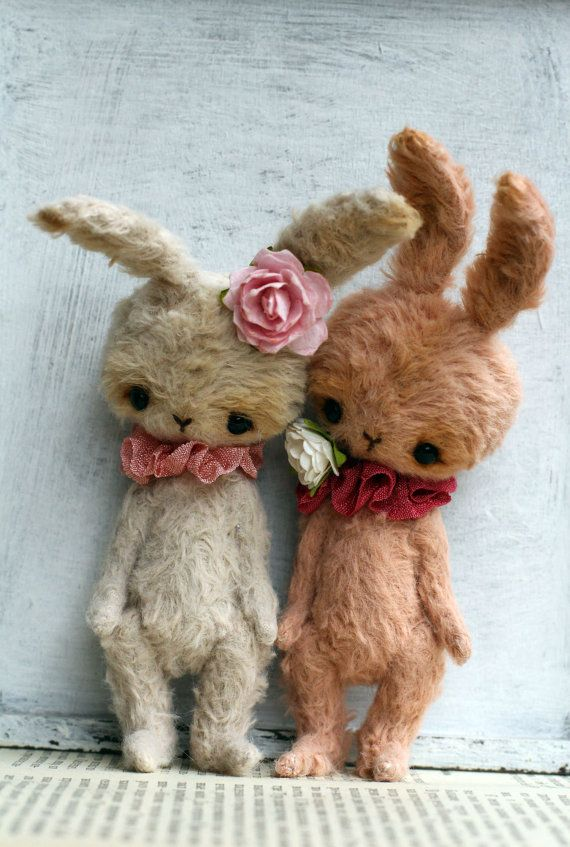 Sweet Little Bunny MADE TO ORDER by zuzutoys on Etsy