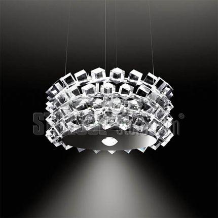 Cini&Nils Collier Quattro Lampada da interni, a sospensione o sopratavolo, a led, dimmerabile, a doppia emissione luminosa.